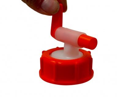""""""" Speidel"""" Ablaufhahn ? 10mm Durchlauf ? lebensmittelechter Kunststoff - Vorschau 4"""