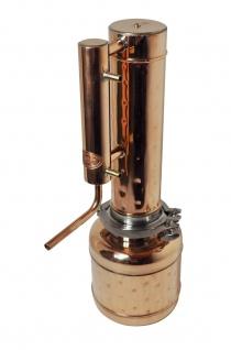 """"""" CopperGarden®"""" Destille EASY MOONSHINE XXL 2 Liter - ohne Thermometer"""