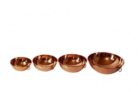 """"""" CopperGarden"""" Rührschüssel aus Kupfer, Größe M = Ø 24 cm - Vorschau 4"""