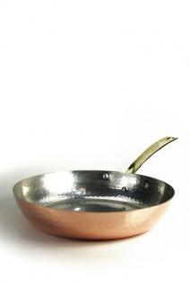 CopperGarden® Kupferpfanne mit Stiel ? 20 cm Durchmesser ? Pfanne aus Kupfer