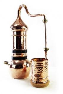 """"""" CopperGarden®"""" Destille Kolonnenbrennerei ? 5 Liter ? mit Thermometer"""