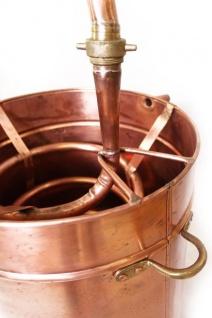 """"""" CopperGarden"""" Destille Alembik 50L, genietet - Vorschau 4"""