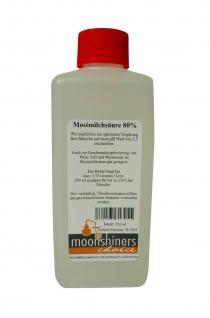 MoonshinersChoice® Mostmilchsäure 80%ig ? 250 Gramm für bis zu 250 Liter - Vorschau 2