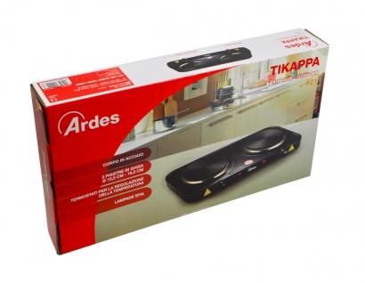 """"""" Ardes"""" Elektro-Kocher Tikappa mit zwei Kochplatten, 1000 & 1500 Watt - Vorschau 2"""