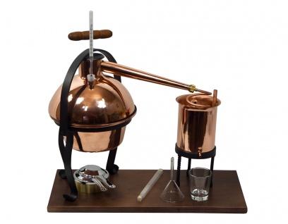 FERRARI Destillieranlage HOBBY - 2 Liter - Tischdestille im Sorgenfrei Paket mit allem Zubehör - Vorschau 2