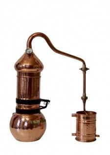 """"""" CopperGarden®"""" Destille Kolonnenbrennerei 2 Liter mit Thermometer"""