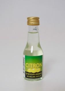 """"""" Prestige"""" Citron Essenz - 20 ml für 0, 75 L Schnaps mit frischem Zitronenamelissearoma - Vorschau 1"""