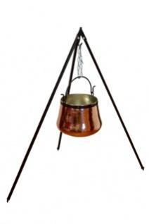 Dreibeinständer 160 cm - für Kessel bis 60L