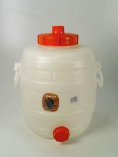 """"""" Speidel"""" Mostfass 20 Liter mit Deckeln - Vorschau 2"""