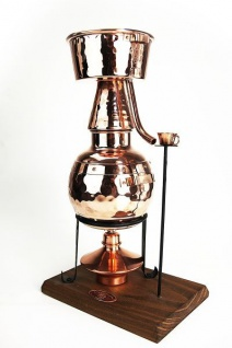 """"""" CopperGarden"""" Destille Alquitara ? 0, 5 Liter ? mit Spiritusbrenner"""