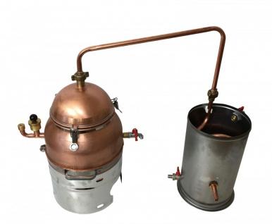 """"""" MS"""" Wasserbad-Destille """" Hobby"""" 6 Liter - Vorschau 2"""