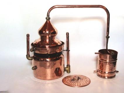 """"""" CopperGarden®"""" Wasserbaddestille HYDRO 10 Liter mit offenem Wasserbad - Vorschau 1"""
