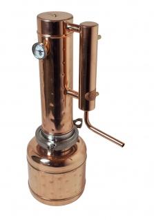 """"""" CopperGarden"""" Destille EASY MOONSHINE XXL 2 Liter mit Thermometer - neues Modell 2020"""
