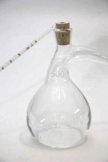 """ Al-Ambik®"" Destille Pelikan, Glas mit Thermometer"
