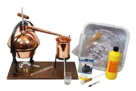 FERRARI Destillieranlage HOBBY - 2 Liter - Tischdestille im Sorgenfrei Paket mit allem Zubehör - Vorschau 1
