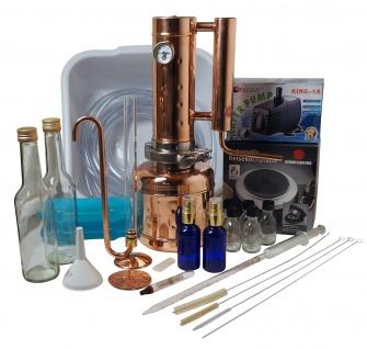 """"""" CopperGarden"""" Destille EASY MOONSHINE XXL 2 Liter - Sorgenfrei Set XXL"""