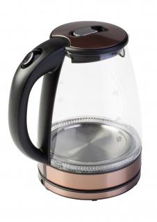 """"""" Ardes"""" Wasserkessel """" Ketty"""" 1, 7 Liter ? Glas & Edelstahl ? Kupfer - Vorschau 2"""