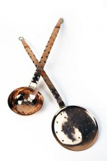 """"""" CopperGarden®"""" Schöpfkelle & Schaumlöffel 42cm"""