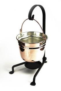 """"""" CopperGarden®"""" Fonduetopf aus Kupfer (11 cm) - Vorschau 3"""