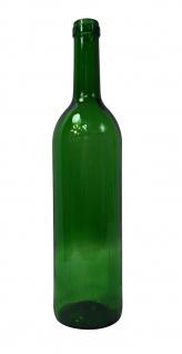 """6 x Weinflasche """" Bordeaux"""" ? 0, 75 Liter ? grün - Vorschau 5"""