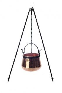 Dreibein Ständer 100 cm, zum Aufhängen von Kesseln