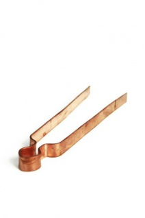 Kupferzange ca 20 cm - Zuckerzange / Räucherzange