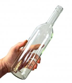 6 x Weinflasche Bordeaux 0, 75L, Klarglas - Vorschau 4
