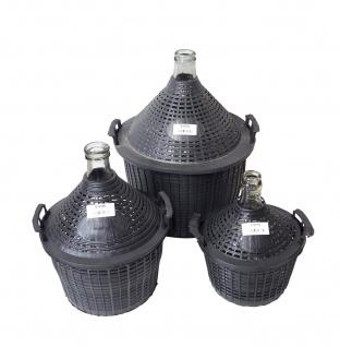 Glasballon mit Schutzkorb, 10 L - zum Lagern und Vergären - Vorschau 5