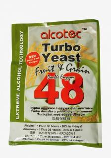 ALCOTEC Turbohefe 48H ? Spezial Frucht & Korn ? 14% in 36 Stunden ? 20% in 4 Tagen - Vorschau 3