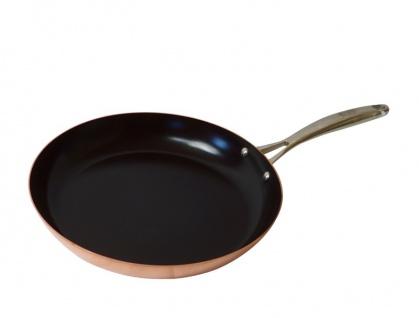""""""" Baumalu"""" Kupferpfanne 28 cm mit keramischer Beschichtung"""