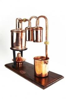 """"""" CopperGarden"""" Destillieranlage KARIBIK 0, 5 Liter mit Spiritusbrenner"""
