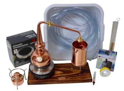 CopperGarden® Destille WHISKY 0, 5 Liter SUPREME Tischdestille. Sorgenfrei Paket mit allem Zubehör