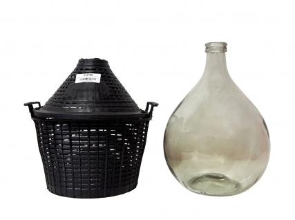 Glasballon mit Schutzkorb, 25 L - zum Lagern und Vergären - Vorschau 3