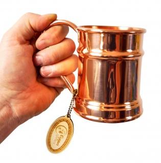 """"""" CopperGarden®"""" Kupfertasse verzinnt 0, 5 Liter Humpen"""