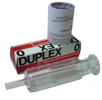 DUPLEX 0 Gärspund 10 mm - 2-tlg. Gärröhrchen / Getränkeschützer - Vorschau 3