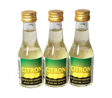 """"""" Prestige"""" Citron Essenz - 20 ml für 0, 75 L Schnaps mit frischem Zitronenaroma - Vorschau 2"""