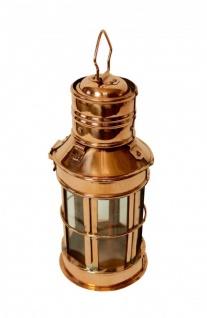 """"""" CopperGarden®"""" Laterne, Kupfer & Glas, 30cm - Vorschau 2"""