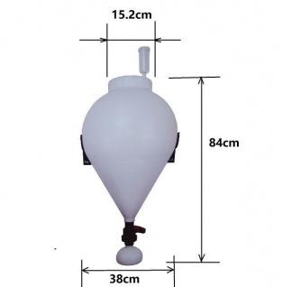 FastFerment(TM) Gärfass ? 30 Liter ? Schnell und sicher vergären