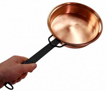 """ CopperGarden®"" 22cm Röstpfanne - blankes Kupfer"