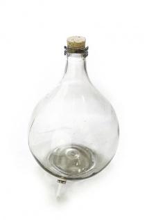 Ersatzteil: Glasballon 5L mit Ablauf