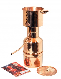 CopperGarden Destille LEONARDO - 2 Liter - nach Helge Schmickl