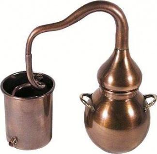 """"""" CopperGarden®"""" Dekodestille Alembik 0, 4L, oxidiert - Vorschau 3"""