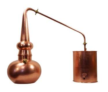 """ CopperGarden"" Whisky-Destille Alembik Supreme 10 Liter mit Thermometer"