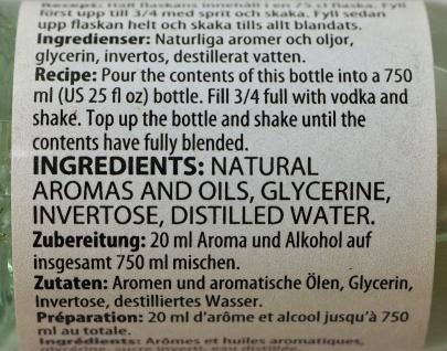 """"""" Prestige"""" Citron Essenz - 20 ml für 0, 75 L Schnaps mit frischem Zitronenaroma - Vorschau 4"""