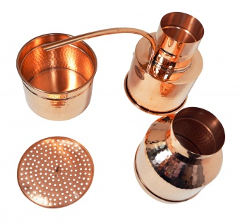 Ersatzteil: Brennkessel für die LEONARDO Destille - 2 Liter - CopperGarden®