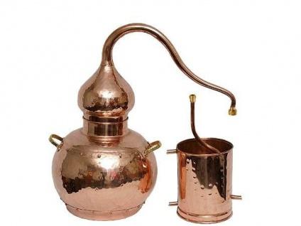 """"""" CopperGarden®"""" Destille Alembik 5 Liter ECO"""