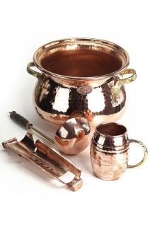 """"""" CopperGarden®"""" SET: Feuerzangenbowle Kupfer"""