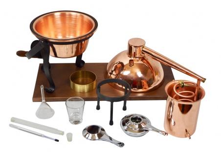 FERRARI Destillieranlage HOBBY - 2 Liter - Tischdestille im Sorgenfrei Paket mit allem Zubehör - Vorschau 4