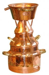 """"""" CopperGarden"""" Destille Alquitara 50 Liter für ätherische Öle und Hydrolate"""