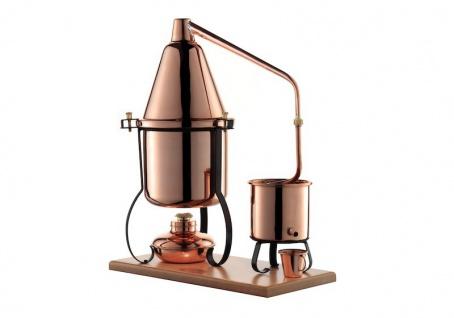 """"""" CopperGarden®"""" Destillieranlage ITALIA 2 Liter mit Spiritusbrenner"""